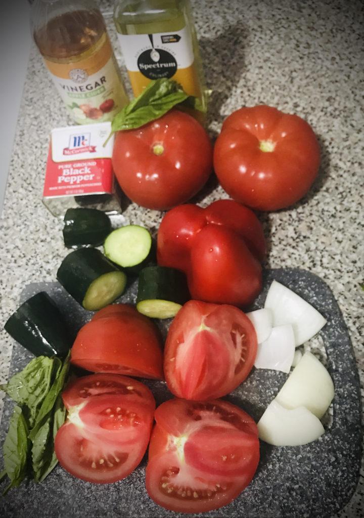 Ingredients Ultimate Gazpacho