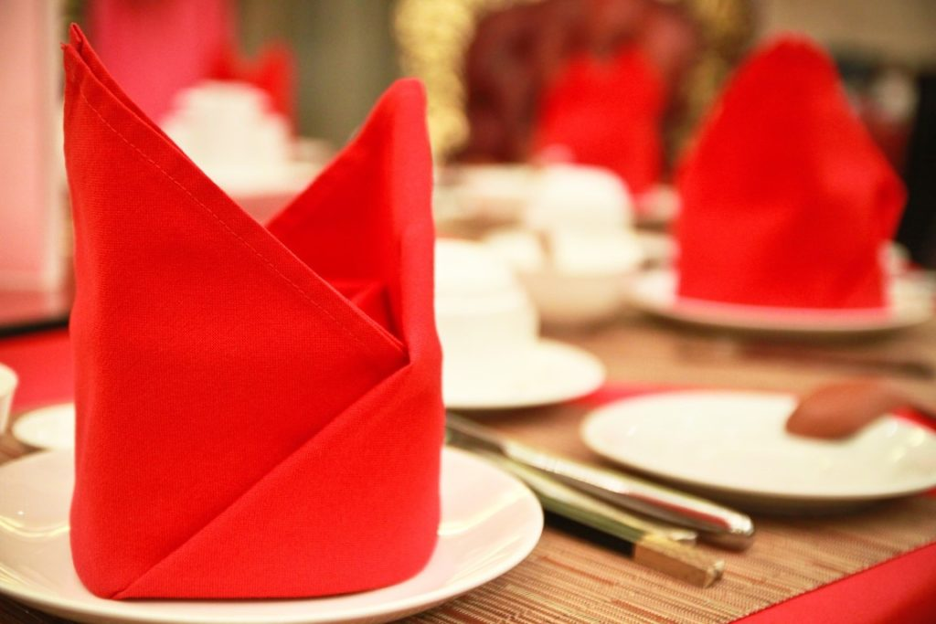 Red Napkins_Uncommon Kitchens Asian Edition